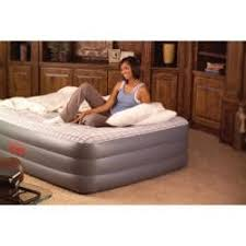 coleman bed coleman premium quickbed size air bed with built in