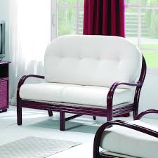 canapé confortable design canapé confortable trois places en rotin brin d ouest