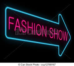 Fashion Show Concept Stock Illustration