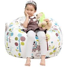 Great Eagle Stuffed Animal Storage Bean Bag Chair Cover|38