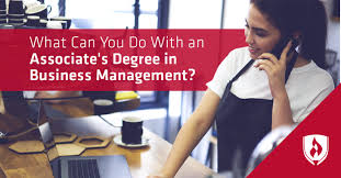 What Can You Do With An Associate's Degree In Business Management ...