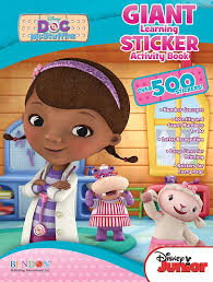 Disney Doc McStuffins Giant Learning Sticker Book