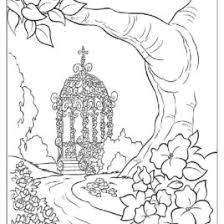 Awesome Nature Scene Coloring Sheets At Pages With