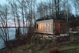 100 Taylor Smyth Architects Gallery Of Flashback Sunset Cabin 1