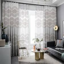 details zu muster vorhang verdunkelungs vorhänge wohnzimmer dekoration blickdicht blackout