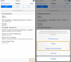 How to delete your Safari web browsing history for specific days