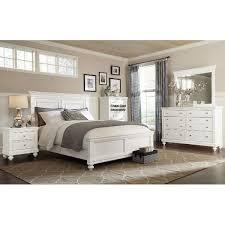 Essex White 6 Piece Cal King Bedroom Set