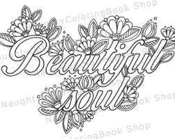 Beautiful Soul Printable Gift Coloring Page Law Of Attraction