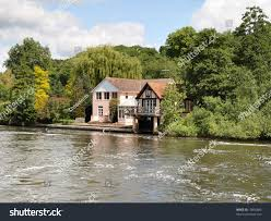 100 River Side House Side Boathouse On Banks Stock Photo Edit
