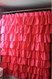 Ruffle Blackout Curtain Panels by Photo Album Waterfall Ruffle Curtain All Can Download All Guide