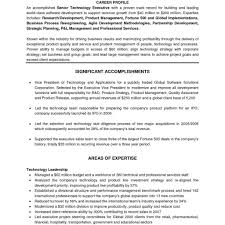 Executive Resume Format Template Fred Resumes
