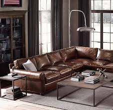 Restoration Hardware Sleeper Sofa Leather by Best 25 Restoration Hardware Sectional Ideas On Pinterest