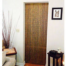 Doorway Beaded Curtains Wood by Bamboo Curtain Ebay
