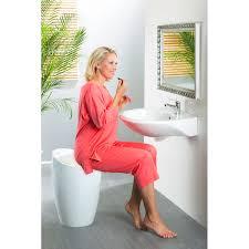 weiss kunststoff bad dusch hocker kaufen möbel