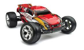 100 Stadium Truck Traxxas Rustler 110 RTR Red WXL5 ESC TQ 24GHz