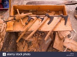 the simple traditional woodworking tools used by the vikings to