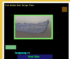 free wooden boat design plans 113608 the best image search