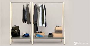 Clothing Racks Are Used To Organize Items Such As Dresses Accessories Trousers This Is So Everything Can Be In Order