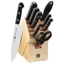 zwilling cuisine zwilling gourment 10pcs knife set 31699 001 cuisine