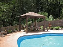 Harmonious Pool Pavilion Plans by 10 X 12 Wood Diy Outdoor Home Pavilion Gazebo Out Back