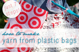 7 Easy Steps To Make Yarn From Plastic Bags