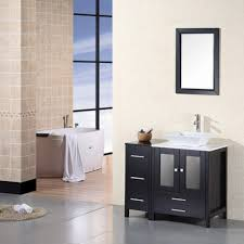 Design Element Arlington 37 Inch Single Sink Vanity Set DEC072A ... Design Element Milan 24 Bathroom Vanity Espresso Free Shipping 78 Ldon Double Sink White Dec088 36 Single Set In Galatian 88 With Porcelain Stanton 72 W Vessel Inch Drawers On The Open Bottom Dec074sw Citrus 48inch Solid Wood W X 22 D 61 Gray Marble Hudson 34 H