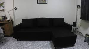 Ikea Knislinge Sofa Cover by Ikea Lugnvik Sofa Bed Unboxing And Assembly Time Lapse Youtube