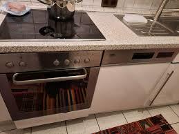 einbauküche weiß hochglanz günstig abzugeben