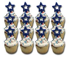 Fourth Of July Cupcakes Marble Dozen Standard Size