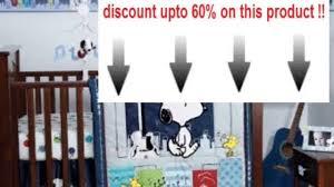 Snoopy Crib Bedding Set by Best Price Bedtime Originals Hip Hop Snoopy 3 Piece Crib Bedding