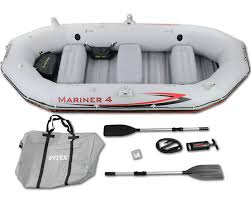 Intex Excursion 5 Floor Board by Intex Mariner 4 Inflatable Boat Only 249 Sold Here