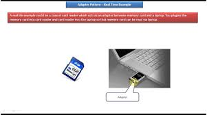 Java Decorator Pattern Reader by Adapter Design Pattern Real Time Example Card Reader Youtube