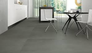 large format grey porcelain floor tiles resin cement look
