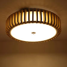 chinesische holz led drop decke le kreative holz runde anhänger lichter wohn esszimmer wohnzimmer bar restaurant beleuchtung
