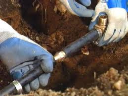 Replacing An Outdoor Wall Faucet by How To Replace A Spigot And Buried Pipe Hgtv