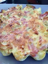 cuisine legere quiche poireaux pomme de terre sans pâte et sa cuisine