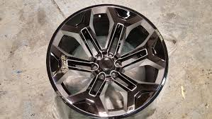SCA Performance 22 Inch Wheel - Gloss Black With Milled Spoke ...