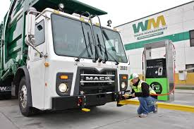 100 Waste Management Garbage Truck Natural Gas