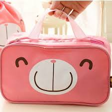 4PCS Set Cute Cartoon Travel Storage Bag Packing Cubes Luggage Organizer For Clothes Shoes Cosmetic Traveling Bags In From On