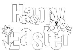 Hello Kitty Easter Coloring Pages Printable Happy Pictures