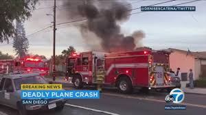 2 Killed, 2 Injured In Small Plane Crash In San Diego, Officials Say ...