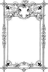 Viewing Gallery For Antique Frame Border Clipart