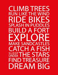 DIY Kids Inspirational Poster