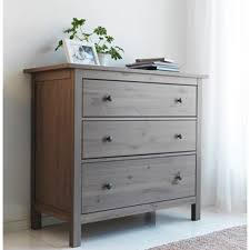amazon com ikea hemnes dresser chest with 3 drawers solid pine