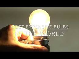4 most expensive bulbs in the world