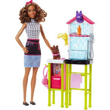 Barbie Doll Toy Set Video