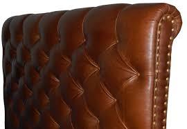 Black Leather Headboard With Diamonds by Fresh Black Leather Tufted Headboard Queen 20374