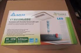 Humidity Sensing Bathroom Fan Heater by Harbor Breeze Alta Bathroom Fan With Light What U0027s It Worth