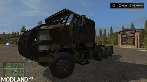 100 Het Military Truck SLAT ARMORED OSHKOSH HET M1070 V 10 Mod Farming Simulator 17