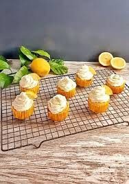 Keto Lemon Cupcakes Topped With An Irresistible Mascarpone Cheese Frosting Are Packed Fresh Flavor